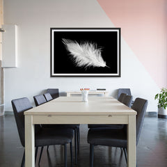 Ezposterprints - Feather - 48x32 ambiance display photo sample