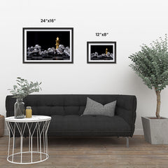 Ezposterprints - Gold King Of Chess ambiance display photo sample