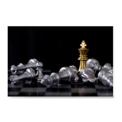 Ezposterprints - Gold King Of Chess