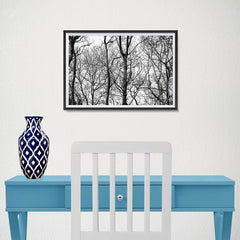 Ezposterprints - Leafless Trees - 18x12 ambiance display photo sample