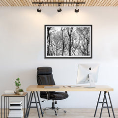 Ezposterprints - Leafless Trees - 36x24 ambiance display photo sample