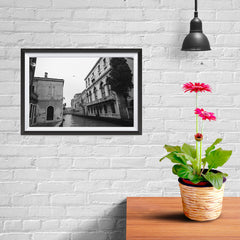 Ezposterprints - Old City With Channels - 12x08 ambiance display photo sample