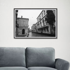 Ezposterprints - Old City With Channels - 24x16 ambiance display photo sample
