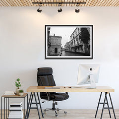 Ezposterprints - Old City With Channels - 36x24 ambiance display photo sample