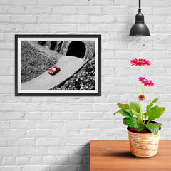 Ezposterprints - Red Miniature Car - 12x08 ambiance display photo sample