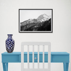 Ezposterprints - Snowy Mountain - 18x12 ambiance display photo sample