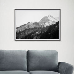 Ezposterprints - Snowy Mountain - 24x16 ambiance display photo sample