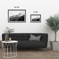 Ezposterprints - Snowy Mountain ambiance display photo sample