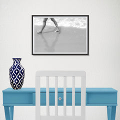 Ezposterprints - Walking On The Sand - 18x12 ambiance display photo sample