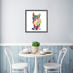 Ezposterprints - The Cat - Cubism - 16x16 ambiance display photo sample