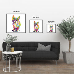 Ezposterprints - The Cat - Cubism