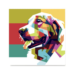 Ezposterprints - The Dog - Cubism -  ambiance display photo sample