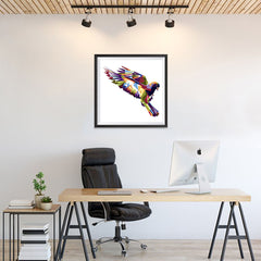 Ezposterprints - The Dove - Cubism - 24x24 ambiance display photo sample