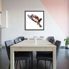 Ezposterprints - The Dove - Cubism - 32x32 ambiance display photo sample