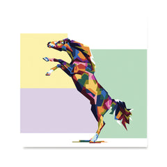 Ezposterprints - The Horse - Cubism -  ambiance display photo sample