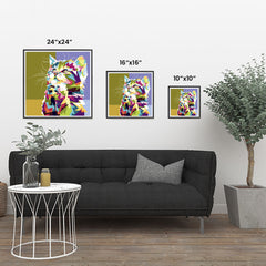 Ezposterprints - The Kitten - Cubism