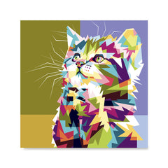 Ezposterprints - The Kitten - Cubism -  ambiance display photo sample