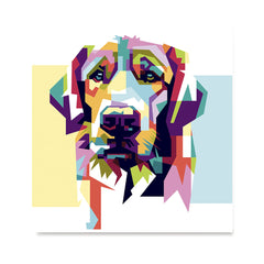 Ezposterprints - The Sad Dog - Cubism -  ambiance display photo sample