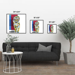 Ezposterprints - The Tiger - Cubism
