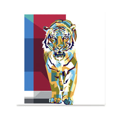 Ezposterprints - The Tiger - Cubism -  ambiance display photo sample
