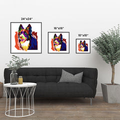 Ezposterprints - The Wolf - Cubism