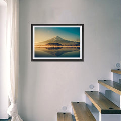 Ezposterprints - Mt Fuji at Dusk - 24x16 ambiance display photo sample