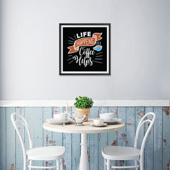 Ezposterprints - Life Happens Coffee Helps - 16x16 ambiance display photo sample