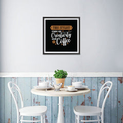 Ezposterprints - This Stylist Runs on Creativity and Coffee - 16x16 ambiance display photo sample