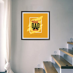 Ezposterprints - Best Dad Ever | Father's Day Posters - 16x16 ambiance display photo sample