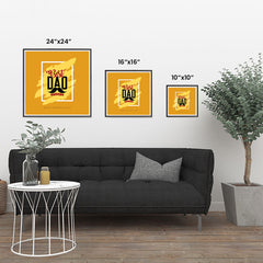 Ezposterprints - Best Dad Ever | Father's Day Posters ambiance display photo sample
