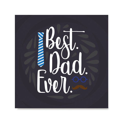Ezposterprints - Best Dad Ever 2 | Father's Day Posters