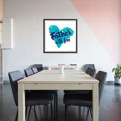 Ezposterprints - To Father, With Love | Father's Day Posters - 32x32 ambiance display photo sample