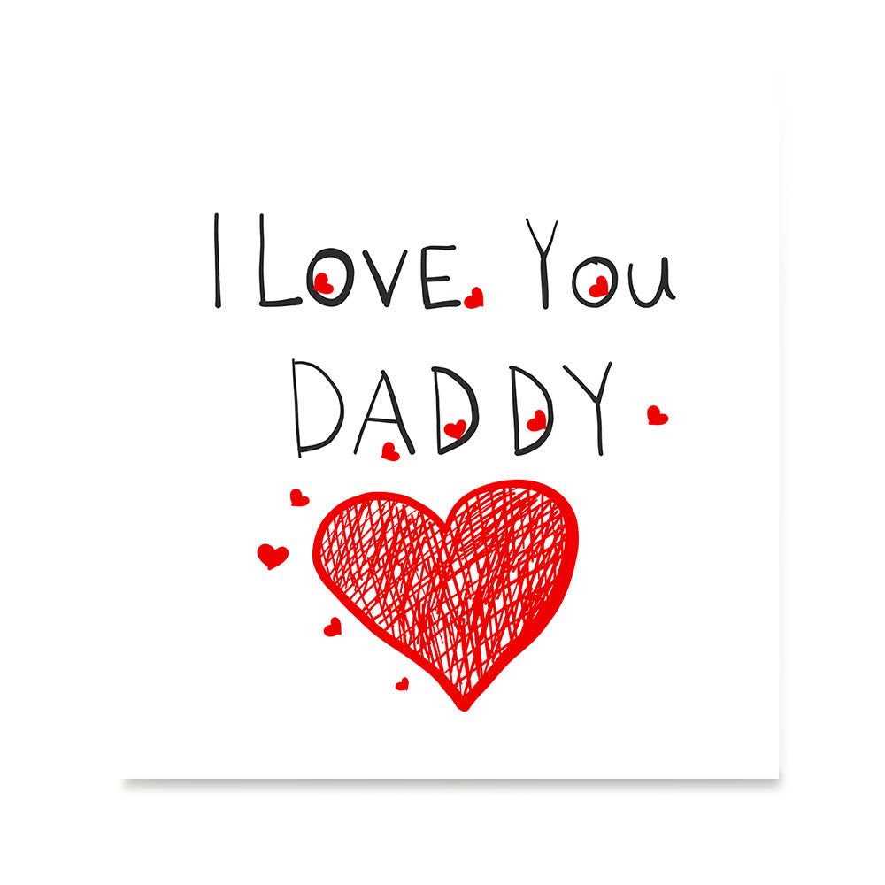 I Love You Dad Father S Day Posters Ezposterprints