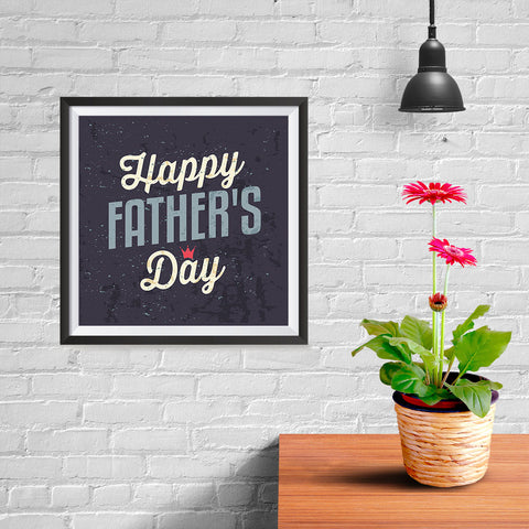 Ezposterprints - Happy Father's Day | Father's Day Posters - 10x10 ambiance display photo sample