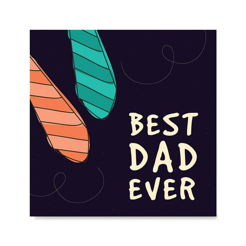 Ezposterprints - Best Dad Ever 4 | Father's Day Posters