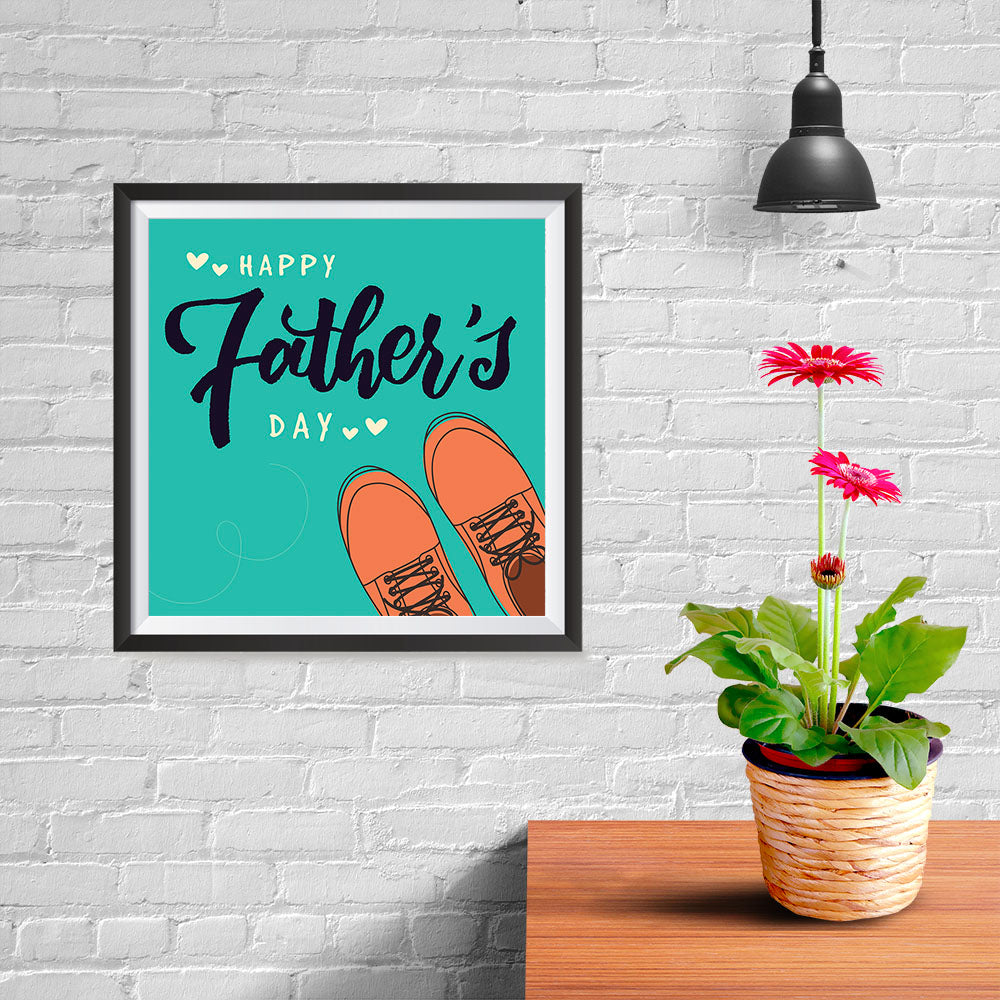 Ezposterprints - Happy Father's Day 2 | Father's Day Posters - 10x10 ambiance display photo sample