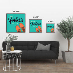 Ezposterprints - Happy Father's Day 2 | Father's Day Posters ambiance display photo sample