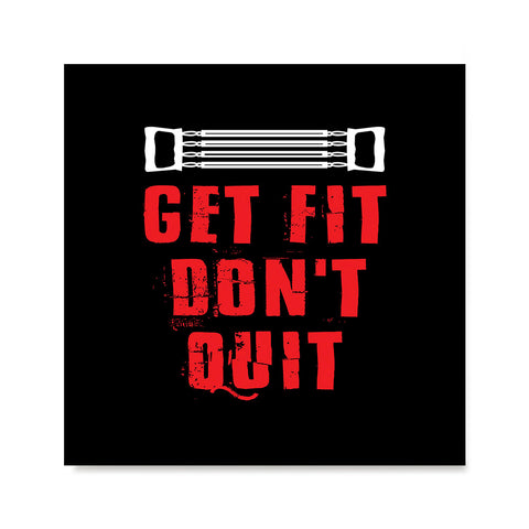 Ezposterprints - Get Fit Don't Quit | GYM Motivation Quotes