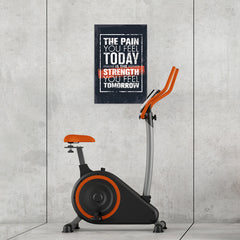 Ezposterprints - The Pain | Gym Inspiration Motivation Quotes - 16x24 ambiance display photo sample
