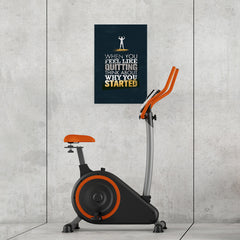 Ezposterprints - When You Feel | Gym Inspiration Motivation Quotes - 16x24 ambiance display photo sample