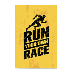 Ezposterprints - Race | Gym Inspiration Motivation Quotes