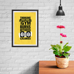 Ezposterprints - Going To Gym | Gym Inspiration Motivation Quotes - 08x12 ambiance display photo sample