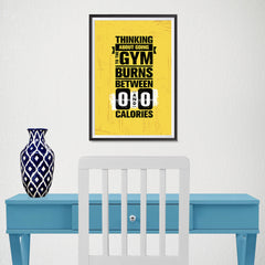 Ezposterprints - Going To Gym | Gym Inspiration Motivation Quotes - 12x18 ambiance display photo sample