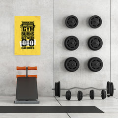Ezposterprints - Going To Gym | Gym Inspiration Motivation Quotes - 24x36 ambiance display photo sample