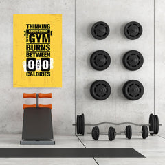 Ezposterprints - Going To Gym | Gym Inspiration Motivation Quotes - 32x48 ambiance display photo sample
