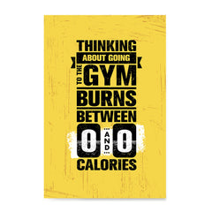 Ezposterprints - Going To Gym | Gym Inspiration Motivation Quotes