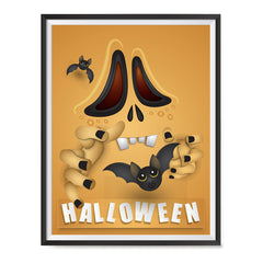 Ezposterprints - Not So Scary Movie Halloween Poster ambiance display photo sample