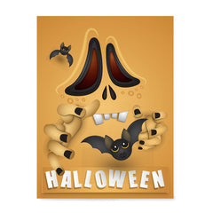 Ezposterprints - Not So Scary Movie Halloween Poster