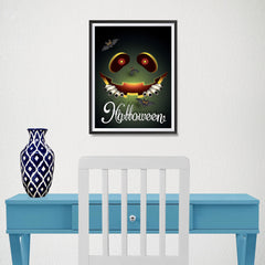 Ezposterprints - Happening Now Halloween Poster - 12x16 ambiance display photo sample