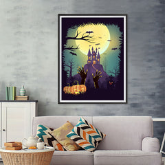 Ezposterprints - It's Alive! Halloween Poster - 36x48 ambiance display photo sample